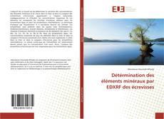 Couverture de Détérmination des éléments minéraux par EDXRF des écrevisses