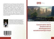Portada del libro de Conservation de la biodiversité et développement socioéconomique local