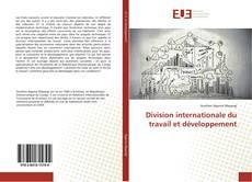 Обложка Division internationale du travail et développement
