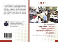 Couverture de L'impact du langage technique sur le fonctionnement d'une entreprise.