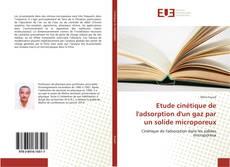 Portada del libro de Etude cinétique de l'adsorption d'un gaz par un solide microporeux