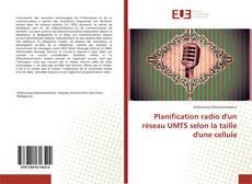 Обложка Planification radio d'un réseau UMTS selon la taille d'une cellule