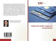 Risque de crédit: exigences prudentielles kitap kapağı