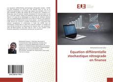 Capa do livro de Équation différentielle stochastique rétrograde en finance