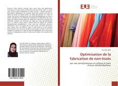 Обложка Optimisation de la fabrication de non-tissés