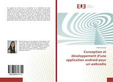 Couverture de Conception et développement d'une application android pour un webradio
