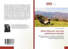 Glenn Murcutt, vers une architecture durable kitap kapağı