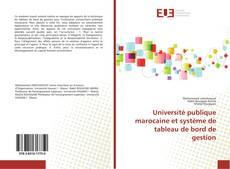 Bookcover of Université publique marocaine et système de tableau de bord de gestion