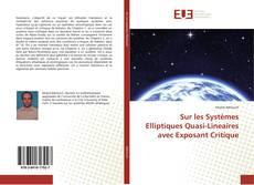 Bookcover of Sur les Systèmes Elliptiques Quasi-Lineaires avec Exposant Critique