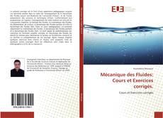 Capa do livro de Mécanique des Fluides: Cours et Exercices corrigés.