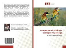 Communauté aviaire et écologie du paysage kitap kapağı