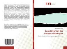 Bookcover of Caractérisation des zonages climatiques