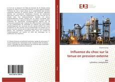 Bookcover of Influence du choc sur la tenue en pression externe