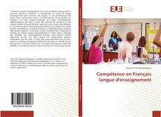 Compétence en Français langue d'enseignement kitap kapağı