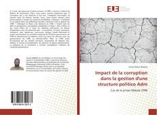 Buchcover von Impact de la corruption dans la gestion d'une structure politico Adm