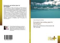 Bookcover of Connaitre son milieu pour le developper