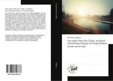 Bookcover of Les eeki chez les Cabe: analyse sociolinguistique et linguistique
