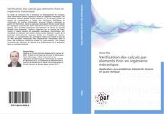 Vérification des calculs par éléments finis en ingénierie mécanique kitap kapağı