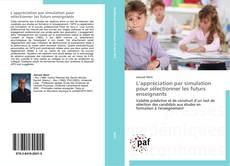 Portada del libro de L'appréciation par simulation pour sélectionner les futurs enseignants