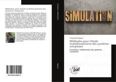 Portada del libro de Méthodes pour l'étude multidisciplinaire des systèmes complexes