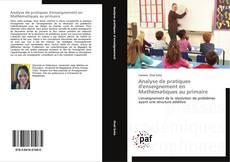 Analyse de pratiques d'enseignement en Mathématiques au primaire的封面