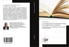 Couverture de Les dispositifs d'évaluation dans l'enseignement supérieur