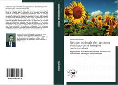 Capa do livro de Gestion optimale des systèmes multisources d'énergies renouvelables