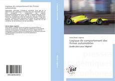 Bookcover of Logique de comportement des firmes automobiles