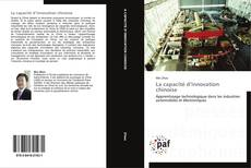 Bookcover of La capacité d'innovation chinoise