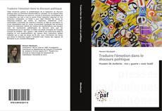 Buchcover von Traduire l'émotion dans le discours politique