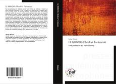 LE MIROIR d'Andreï Tarkovski kitap kapağı