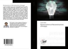 Buchcover von Restauration et Reconstruction d'Images