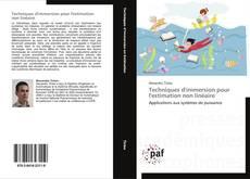 Bookcover of Techniques d'immersion pour l'estimation non linéaire