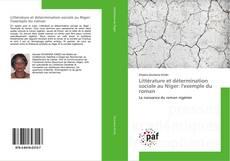 Capa do livro de Littérature et détermination sociale au Niger: l'exemple du roman