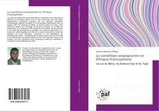 Buchcover von La condition enseignante en Afrique francophone