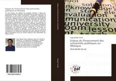 Обложка Enjeux du financement des universités publiques au Mexique