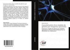 Couverture de Caractérisation d'un modèle de gliome par imageries spectrales