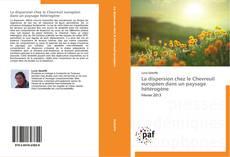 Portada del libro de La dispersion chez le Chevreuil européen dans un paysage hétérogène