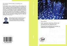 Capa do livro de Les savoirs tacites dans la pratique du physicien
