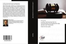 L'effet horizontal de la Convention européenne des droits de l'homme的封面