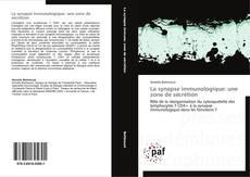Portada del libro de La synapse immunologique: une zone de sécrétion