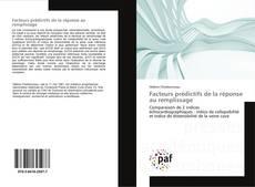 Bookcover of Facteurs prédictifs de la réponse au remplissage