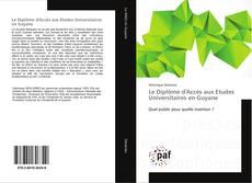 Le Diplôme d'Accès aux Etudes Universitaires en Guyane的封面