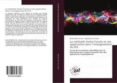 Bookcover of La méthode Verbo-Tonale et son application dans l'enseignement du FLE