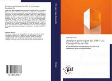 Capa do livro de Analyse génétique du VIH-1 au Congo-Brazzaville