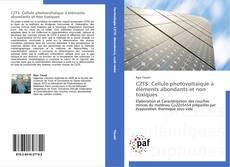 Bookcover of CZTS: Cellule photovoltaïque à éléments abondants et non toxiques