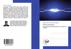 Bookcover of Électrostatique