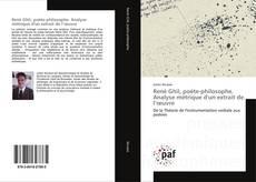 Bookcover of René Ghil, poète-philosophe. Analyse métrique d'un extrait de l'œuvre