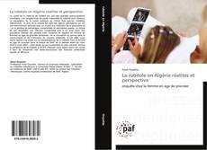 Portada del libro de La rubéole en Algérie réalités et perspective
