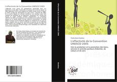 Capa do livro de L'effectivité de la Convention UNESCO 2005